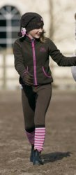 Vest Mountainhorse Heavenly hoodie jr. roze