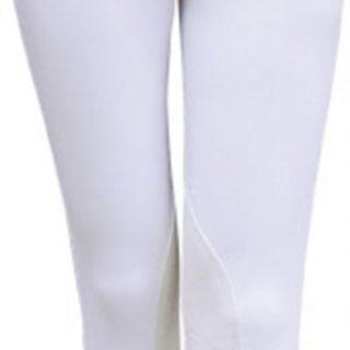 Witte rijbroek