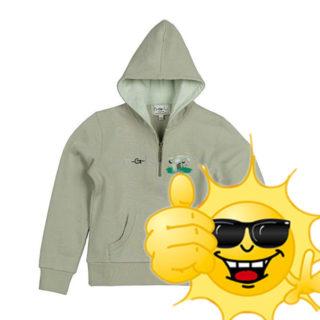 Sweater  HGL Horze Kaki Groen