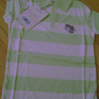 Shirt Polo Gestreept Groen Happy Go Lucky