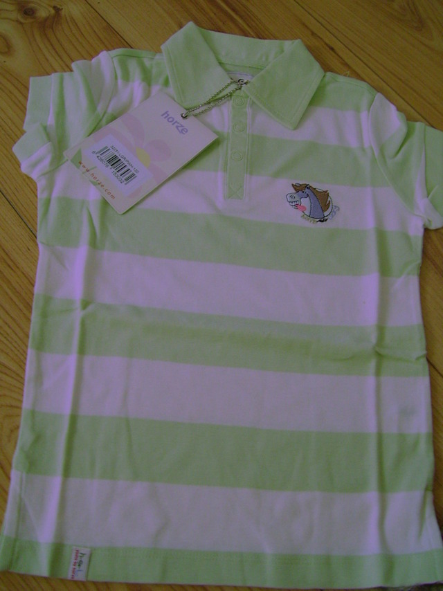 Shirt Polo Gestreept Groen Happy Go Lucky