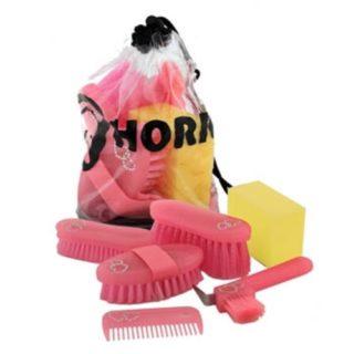 Horka Grooming Bag Glitter Roze