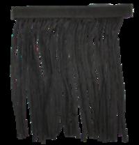 Vliegenfront Met Klittenband Zwart