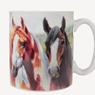 Horka Paardenbeker Twee Paarden