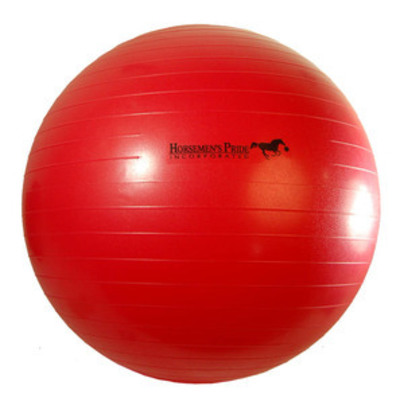 Jolly Mega Paardenvoetbal Rood 65cm