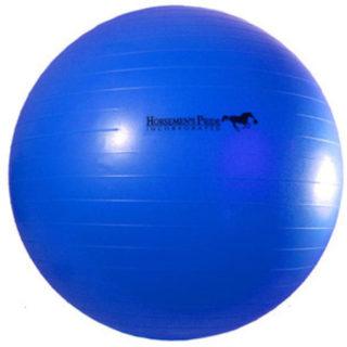Jolly Mega Paardenvoetbal Blauw 75cm