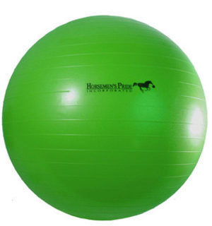 Jolly Mega Paardenvoetbal Groen 100cm