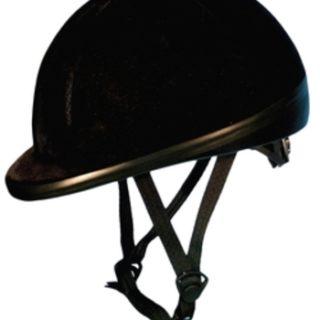 Verstelbare Cap Excellent Fluweel Zwart